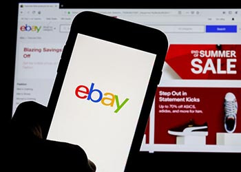 vente aux enchères sur eBay