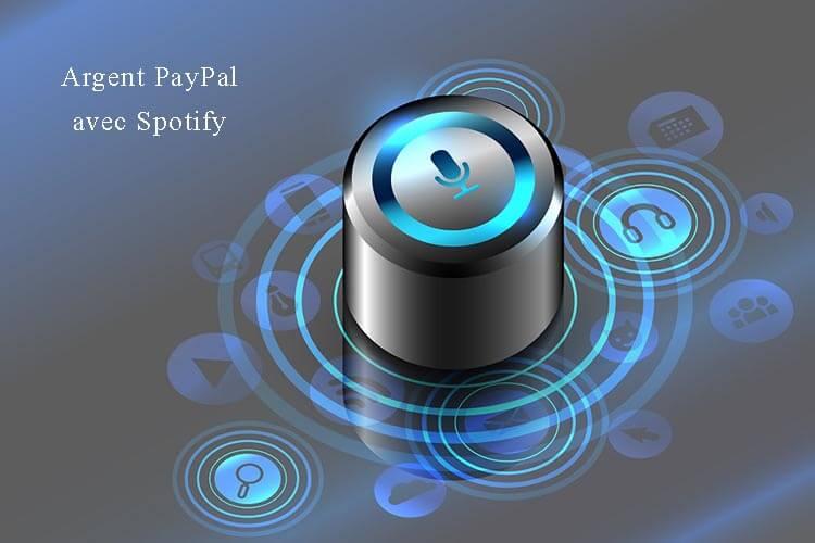 Gagner de l'argent PayPal avec Spotify